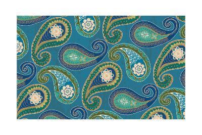 Peacock Paradise X-Veronique Charron-Art Print