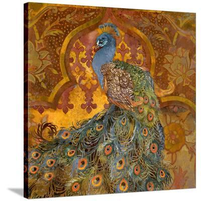 Peacock Pavilion--Stretched Canvas Print