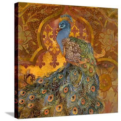 Peacock Pavilion--Stretched Canvas Print