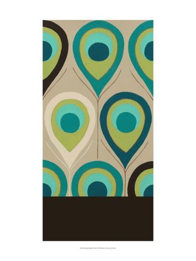 Peacock Regalia II-Erica J^ Vess-Art Print