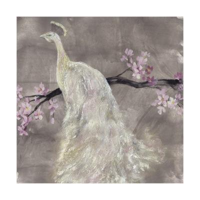 Peacock Serenity II-Jennifer Goldberger-Premium Giclee Print