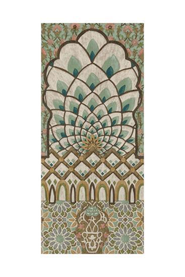 Peacock Tapestry I-Chariklia Zarris-Art Print