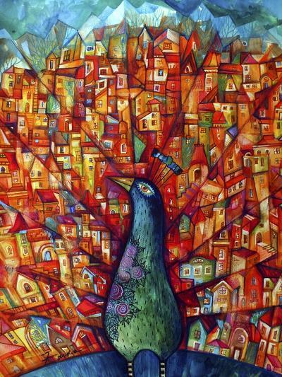 Peacock-Oxana Zaika-Giclee Print