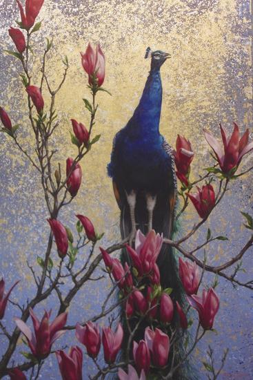 Peacock-Michael Jackson-Giclee Print