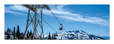 Peak 2 Peak Gondola, Whistler, British Columbia-Jeff Maihara-Art Print