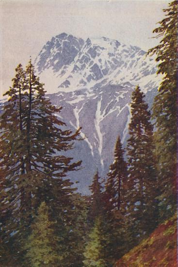 'Peak in the Himalayas', 1924-Unknown-Giclee Print