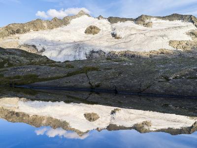 Peak of Mt Grossvenediger, Nationalpark Hohe Tauern, Salzburg, Austria-Martin Zwick-Photographic Print