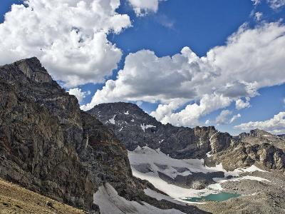 Peaks and Frozen Lakes in the High Country of Indian Peaks Wilderness, Colorado-Andrew R. Slaton-Photographic Print