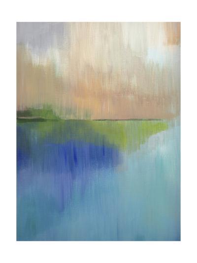Peaks Bay I-Alison Jerry-Art Print