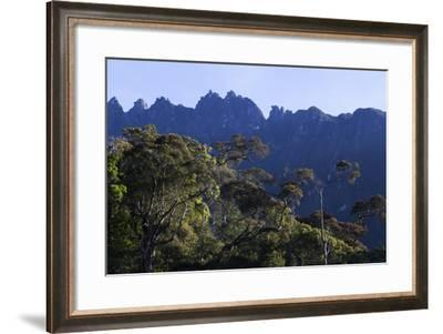 Peaks of Mount Kinabalu-Gabby Salazar-Framed Photographic Print