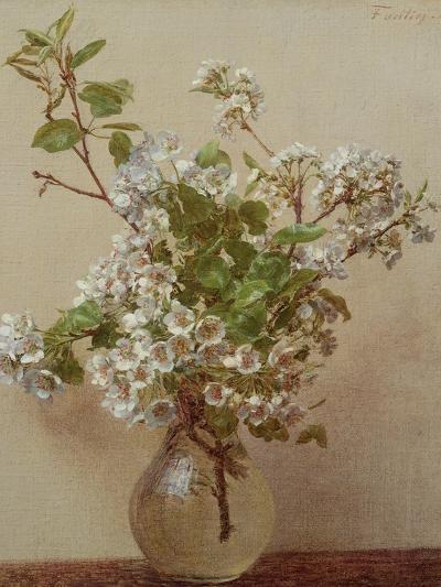 Pear Blossom, 1882-Henri Fantin-Latour-Giclee Print