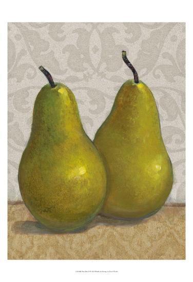 Pear Duo II-Tim OToole-Art Print