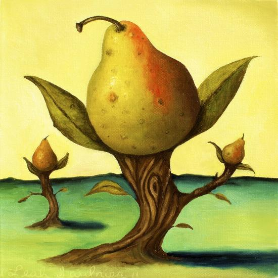 Pear Trees 2-Leah Saulnier-Giclee Print