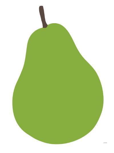 Pear-Avalisa-Art Print