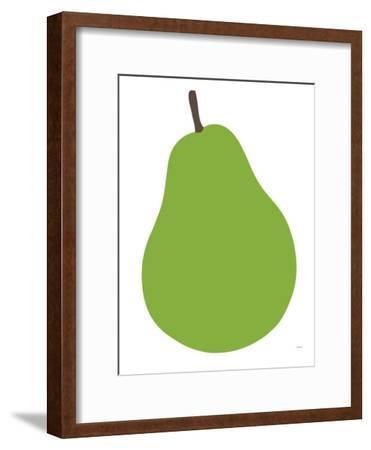 Pear-Avalisa-Framed Art Print