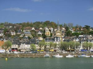 Across the Touques River, Deauville, Normandy, France, Europe by Pearl Bucknall