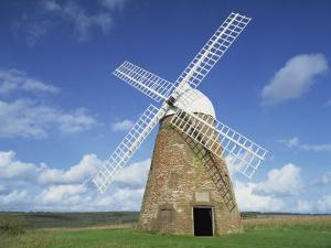 Halnaker Windmill on Top of Halnaker Hill in South Downs, Halnaker, West Sussex, England, UK by Pearl Bucknall