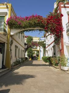 Little Venice's Alleyways, Puerto De Morgan, Gran Canaria, Canary Islands, Spain by Pearl Bucknall