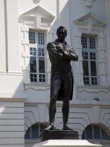 Sir Stamford Raffles Cast in 1887, Singapore, Southeast Asia by Pearl Bucknall