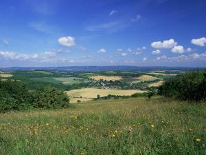 South Harting from the South Downs Way, Harting Down, West Sussex, England, United Kingdom by Pearl Bucknall
