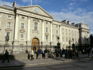 Trinity College Old Library Built Between 1712 and 1732, College Green, Dublin, Republic of Ireland by Pearl Bucknall