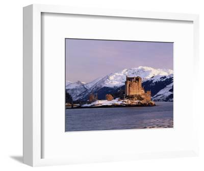 Eilean Donan Castle in Winter, Highlands, Scotland