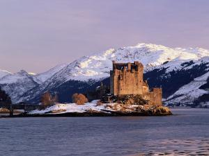 Eilean Donan Castle in Winter, Highlands, Scotland by Pearl Bucknell