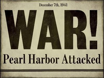 Pearl Harbor--Giclee Print