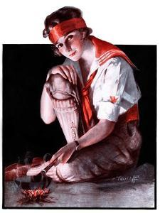 """""""Campfire Girl,""""July 26, 1924 by Pearl L. Hill"""