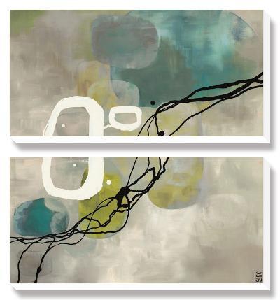 Pearl Retro-Laurie Maitland-Canvas Art Set