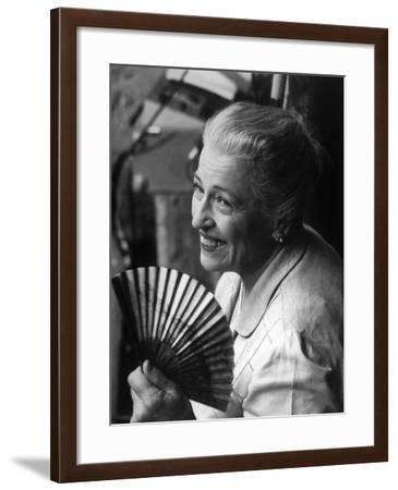 Pearl S. Buck, 1960--Framed Photo