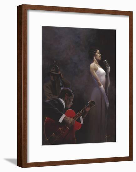 Pearlescent Diva-Brent Lynch-Framed Art Print