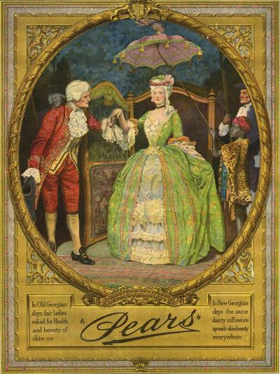 Pears, Magazine Advertisement, UK, 1910--Giclee Print