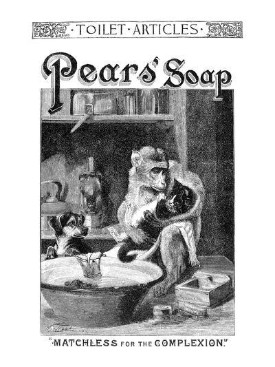 Pears' Soap Ad, 1888--Giclee Print