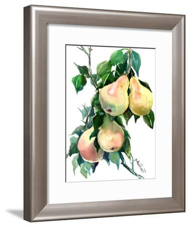 Pears-Suren Nersisyan-Framed Art Print