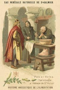 Peas and Beans: Charlemagne at the Abbey of St Victor