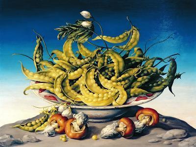 Peas in a Bowl-Amelia Kleiser-Giclee Print