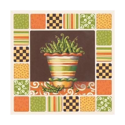 Peas-Kathy Middlebrook-Art Print