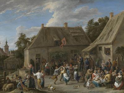 Peasant Kermis, C.1665-David the Younger Teniers-Giclee Print