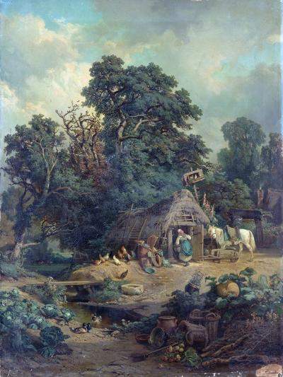 Peasant Landscape-Edouard-Theophile Blanchard-Giclee Print