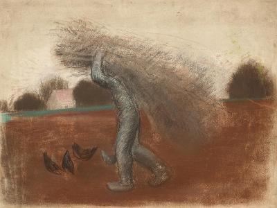 Peasant with a Bundle of Sticks-Julio González-Giclee Print