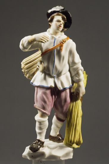 Peasant with Strip of Wood, 1760--Giclee Print