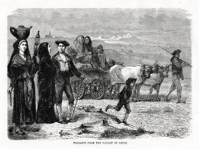 Peasants from the Valley of Ossun, France, 1879--Giclee Print