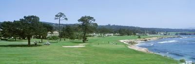 Pebble Beach Golf Course Ca, USA--Photographic Print