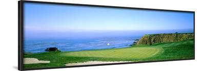 Pebble Beach Golf Course, Pebble Beach, Monterey County, California, USA--Framed Photographic Print