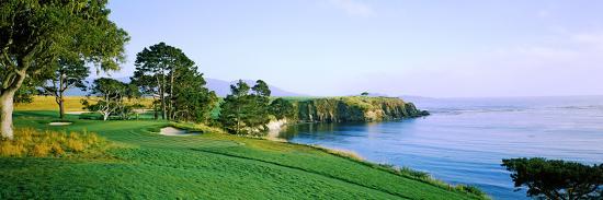 Pebble Beach Golf Course Monterey County California Usa
