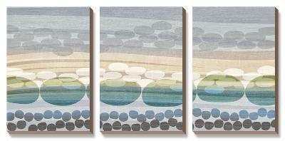 Pebble Beach-Tandi Venter-Canvas Art Set