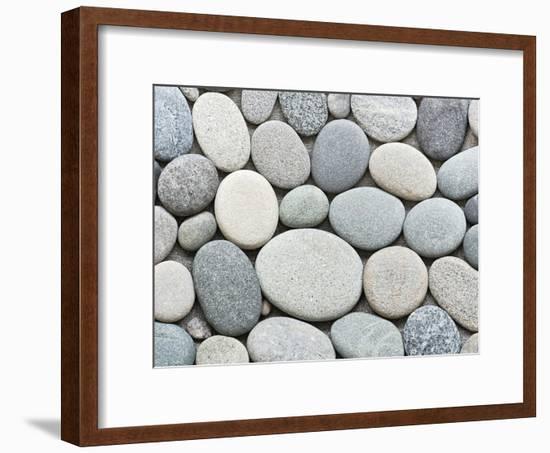 Pebble-Lebens Art-Framed Art Print