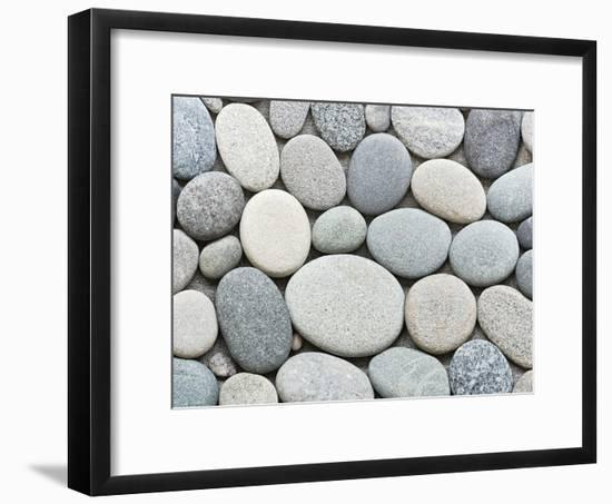 Pebble-Lebens Art-Framed Art Print