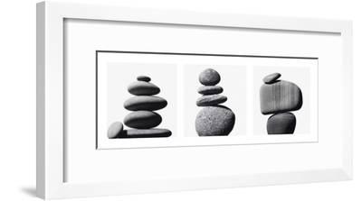 Pebbles Architectures--Framed Art Print